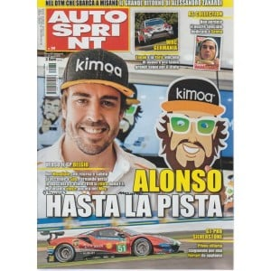 Autosprint - n. 34 - settimanale - 21-27 agosto 2018 -