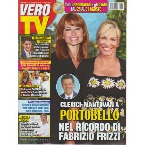 Vero Tv - n. 34 - 27 agosto 2018 - settimanale
