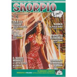 Skorpio - n. 2164 - 23 agosto 2018 - settimanale di fumetti