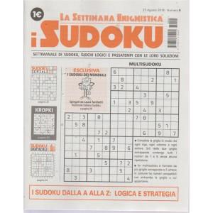 La settimana enigmistica i sudoku - n. 5 - 23 agosto 2018 - settimanale
