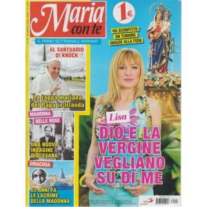Maria Con Te - n. 16 - 26 agosto 2018 - settimanale
