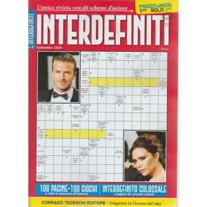 Interdefiniti - n. 3 - settembre 2018 - mensile - 100 pagine - 100 giochi