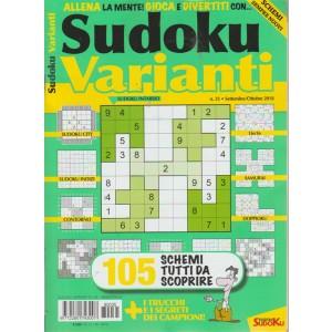 Sudoku Varianti - n. 35 - settembre - ottobre 2018 - bimestrale