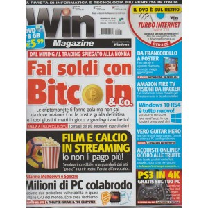 Win Magazine vers.Dvd - mensile n. 242 - Febbraio 2018 PS3 in 4K  gratis sul PC