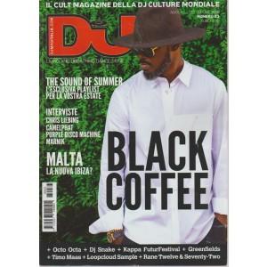 Dj Mag. - Black Coffee - n. 83 - agosto - settembre 2018 - mensile