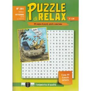 I Puzzle Di Relax -  n. 291 - mensile - settembre 2018 -