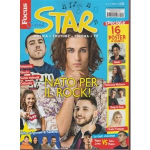 Focus Junior Star - speciale n. 2 Febbraio 2018 Musica, Youtube, Cinema, TV