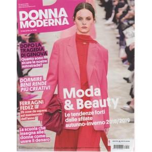 Donna Moderna - n. 36 - 22 agosto 2018 - settimanale