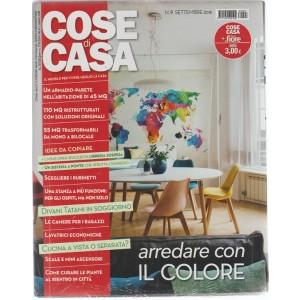 Cose Di Casa + - Casa In Fiore - n. 9 - settembre 2018 - mensile