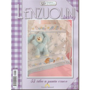Quaderni di Ricamare - quadrimestrale n. 20 Febbraio 2018 Lenzuolini Baby