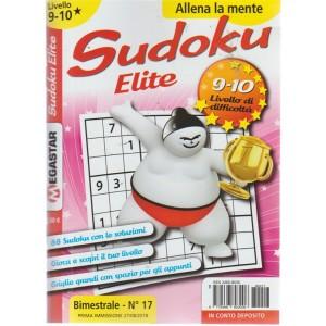Sudoku Elite - Liv.9-10 - n. 17 - bimestrale - 27/8/2018