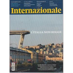 Internazionale - n. 1270 - 24/30 agosto 2018 - settimanale