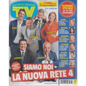 Sorrisi E Canzoni Tv - n. 35 - 28 agosto 2018 - settimanale
