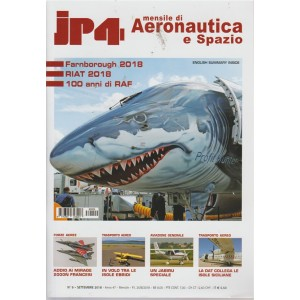 Jp4 - n. 9 - settembre 2018 - mensile