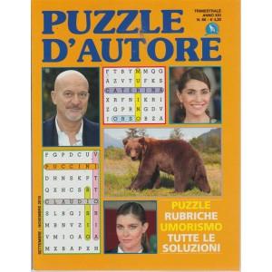 Puzzle D'autore - n. 66 - trimestrale - settembre - novembre 2018 -