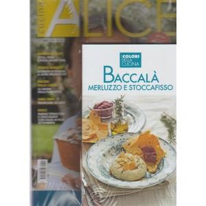 Alice Cucina + il libro Baccalà merluzzo e stoccafisso + un libro in omaggio Antipasti e finger food - n. 9 - mensile - settembre 2018