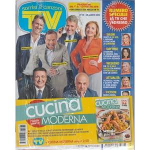 Sorrisi e canzoni tv + Cucina moderna - n. 35 - 28 agosto 2018 - settimanale