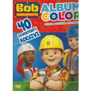 Toys Pocket presenta Bob aggiusta tutto album color n. 6 -