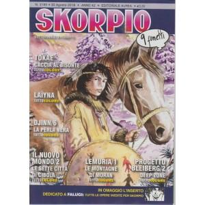 Skorpio - n. 2165 - 30 agosto 2018 - settimanale di fumetti