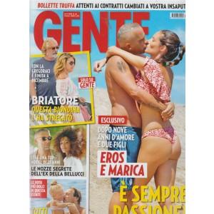 Gente - n. 36 - 8/9/2018 - settimanale