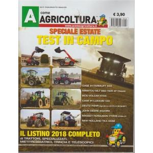 A come Agricoltura - n. 58 - mensile - settembre 2018