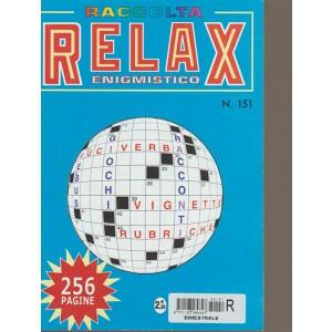 Raccolta Relax  enigmistico - n. 151 - bimestrale - 256 pagine