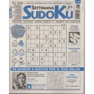Settimana Sudoku - n. 682 - settimanale - 7 settembre 2018 - tutti i venerdì in edicola