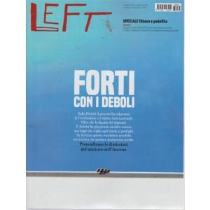 Left Avvenimenti - n. 35 - 31 agosto 2018 - 6 settembre 2018 - settimanale