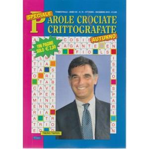 Speciale Parole Crociate crittografate - trimestrale - n. 76 - ottobre - dicembre 2018 - autunno - 196 pagine