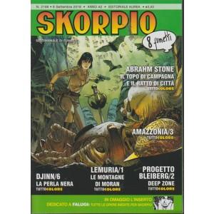 Skorpio - n. 2166 - 6 settembre 2018 - settimanale di fumetti