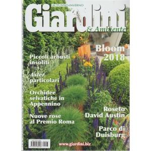 Giardini -& ambiente - autunno inverno - n. 293 - bimestrale - settembre - dicembre 2018