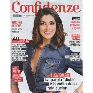 Confidenze - n. 38 - 11 settembre 2018 - settimanale