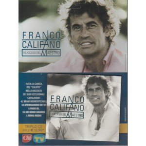 Cd Sorrisi Speciale - n. 19 - ottobre 2018 - settimanale - Franco Califano. I successi del Maestro - triplo CD