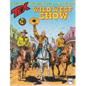 Tex Nuova Ristampa - Wild West Show - n. 436 - mensile - agosto 2018 -