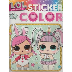 Sticker & Color - Lol Surprise - n. 22 - 8/9/2018 - bimestrale - settembre - ottobre 2018