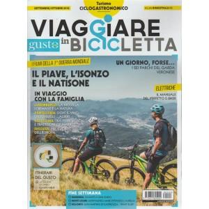 Viaggiare In Bicicletta - Con Gustosano - n. 2 - bimestrale - settembre - ottobre 2018 -