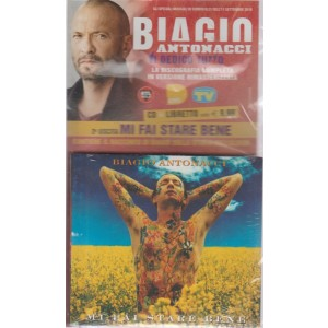Gli speciali musicali di Sorrisi n. 21 - dell'11 settembre 2018 - settimanale - Biagio Antonacci - seconda uscita - cd+ libretto - Mi fai stare bene