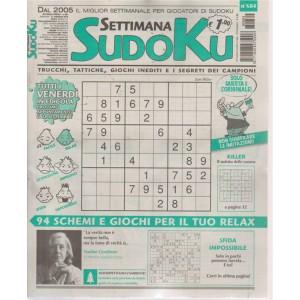Settimana Sudoku - n. 684 - settimanale - 21 settembre 2018