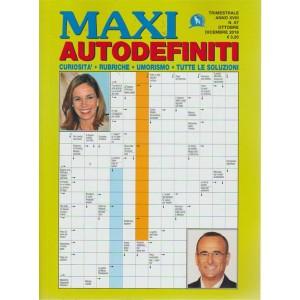 Maxi Autodefiniti - n. 67 - trimestrale - ottobre - dicembre 2018