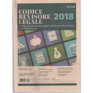 Soluzioni Del Sistema Frizzera - Codice Del Revisore legale 2018 - mensile - n. 3 - settembre 2018