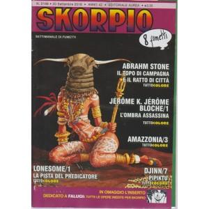 Skorpio - n. 2168 - 20 settembre 2018 - settimanale di fumetti