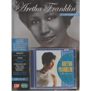 Aretha Franklin 20 greatest hits - n. 15 - settimanale - ottobre 2018 -