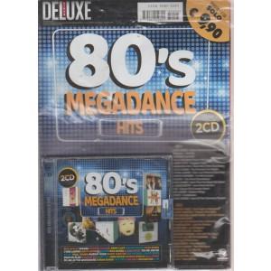 Saifam Music Deluxe Var89 - Cd 80'S Megadance Hits - 2 CD - + Rivista - ottobre - novembre 2018 -