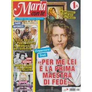 Maria Con Te - n. 20 - 23 settembre 2018 - settimanale