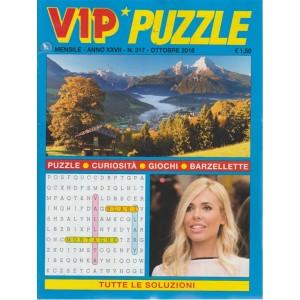 Vip Puzzle - n. 317 - mensile - ottobre 2018