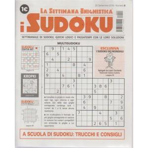 La settimana enigmistica i sudoku - n. 9 - 20 settembre 2018 - settimanale