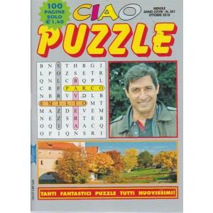 Ciao Puzzle -n. 341 - mensile - ottobre 2018 - 100 pagine