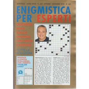 Enigmistica per esperti - n. 248 - bimestrale - ottobre - novembre 2018