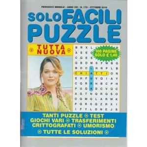 Solo Facili Puzzle - n. 179 - mensile - ottobre 2018  - 100 pagine