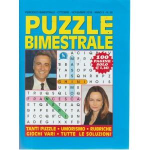 Puzzle Bimestrale - n. 58 - ottobre - novembre 2018 - 100 pagine